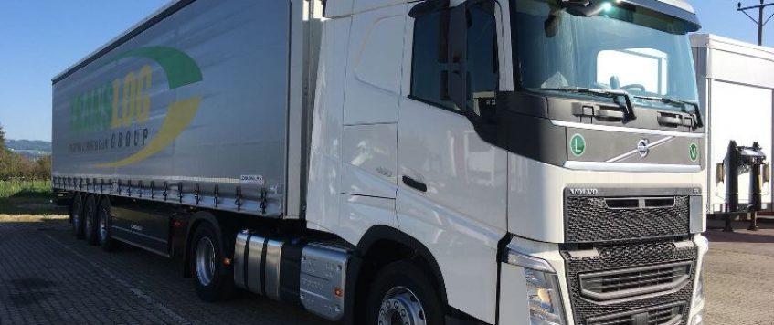 Straßen-Gütertransporte